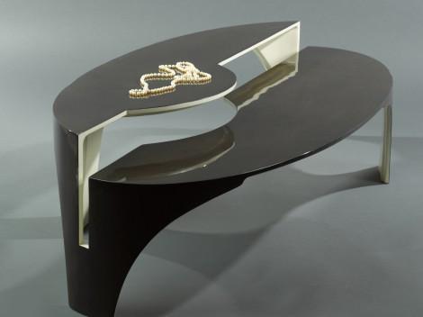 confluence coffee table by paul rene furniture phoenix az
