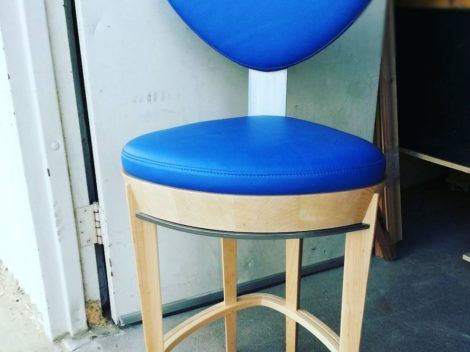 custom upholstered bar stools chairs by paul rene phoenix az