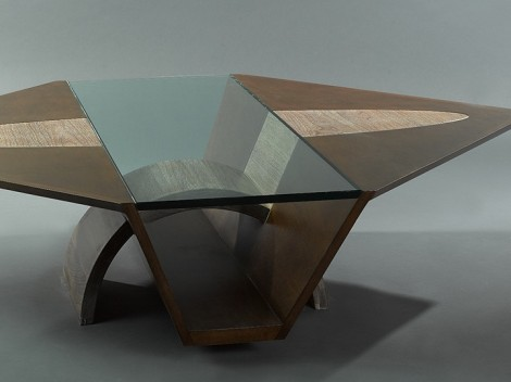 custom coffee tables by designer paul jeffrey of paul rene furniture phoenix arizona