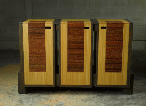contemporary dining buffet by designer paul jeffrey of paul rene furniture and cabinets phoenix scottsdale az