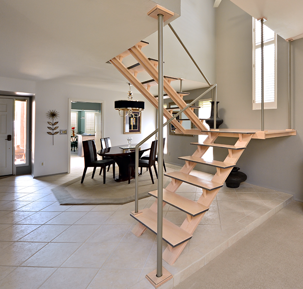 Custom modern staircase design for Custom staircase design