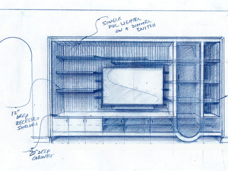 custom wall unit design ideas by paul jeffrey of paul rene custom furniture and cabinetry phoenix-scottsdale az
