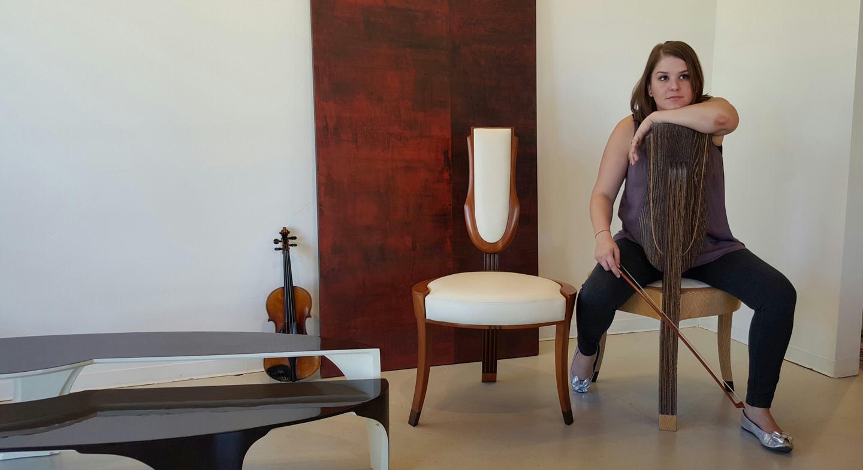 2 chair string occasional chair by paul rene furniture phoenix az