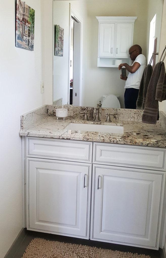 Modern Bathroom Remodel Before