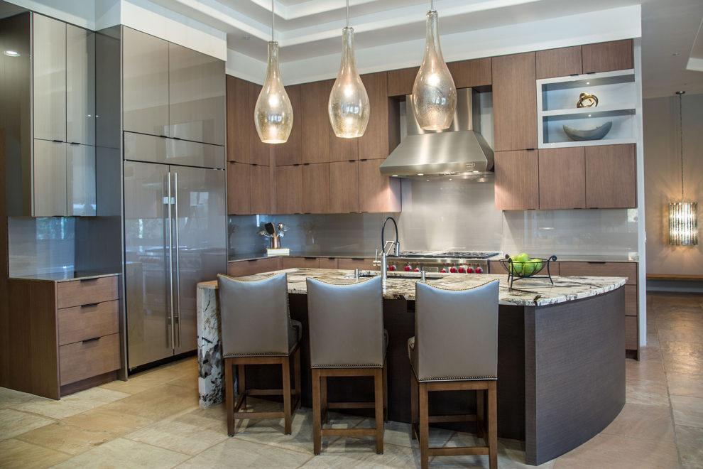 Paulrene Contemporary Kitchen Remodel Phoenix Az