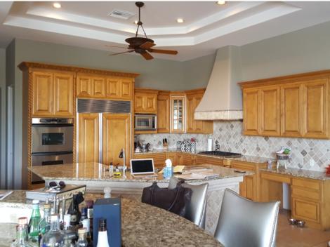 Desert modern kitchen remodeling