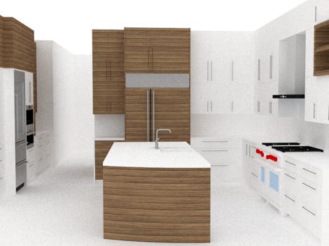 contemporary kitchen remodel design ideas by paul rene phoenix az