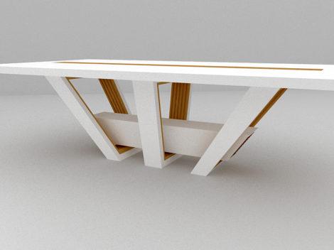 custom design reclaimed rustic dining table by paul rene phoenix az2