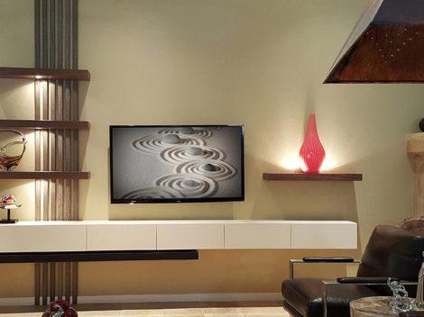 custom modern high gloss painted media cabinet by paul rene furniture and cabinets phoenix az
