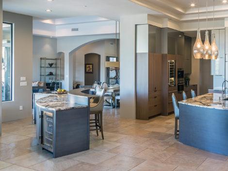 desert modern kitchen remodel by Paul Rene Scottsdale AZ