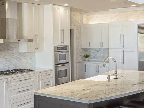 modern custom kitchen cabinets shaker style quartz and granite tops by paul rene